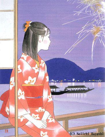 Artist Seiichi Hayashi.