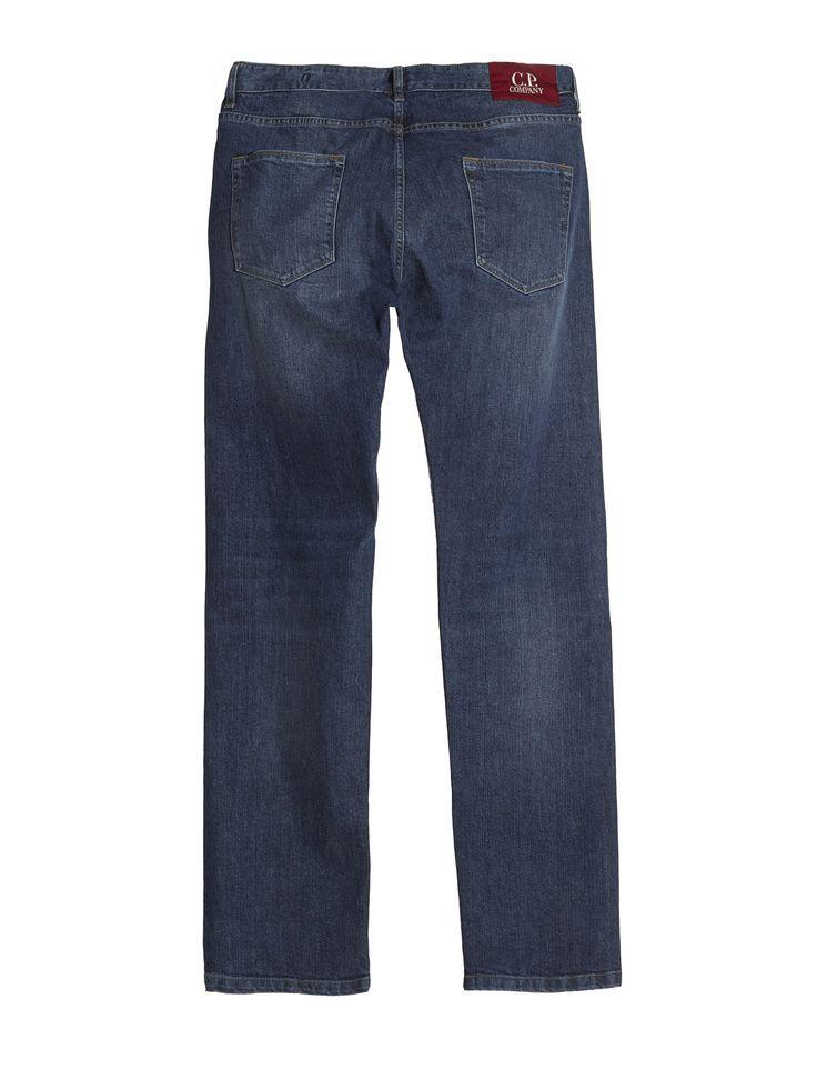 C.P. Company Washed Denim Five Pocket Jeans