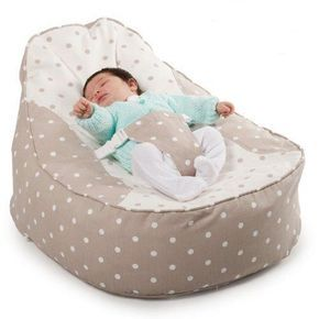BambeanoR Baby Bean Bag Try Bags A Chair With Safety Harness And Washable Cotton Cover Toddler Included For 5 Years Extra