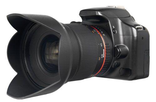 Bower SLY1620M43 16mm f/2.0 High-Speed Super-Wide Lens for Olympus OM-D E-M5/PM2/PL5/P5 Panasonic DMC-G45/G5/G6/GH3/GX1/GX7 Micro 4/3 Cameras