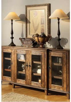 Home Decorating on Beautiful Cabinet Vignette   Home Decorating Ideas