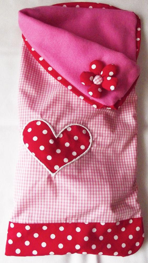My first tutorial - baby sleeping bag