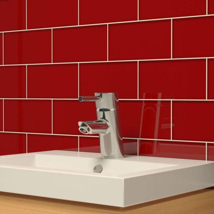 Red Glass Tile Kitchen Backsplash 245 best backsplashes images on pinterest | backsplash ideas