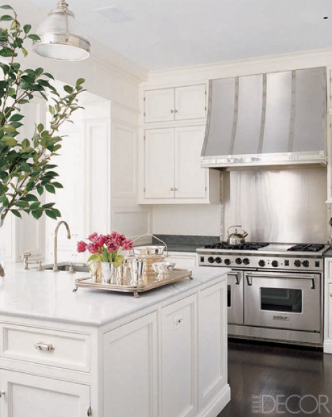 379 best images about kitchen on pinterest stove gambrel and rustic kitchens - Elle decor kitchens ...