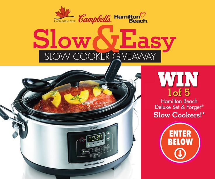 Slow & Easy Slow Cooker Contest_Entry | Eat In Eat Out Magazine
