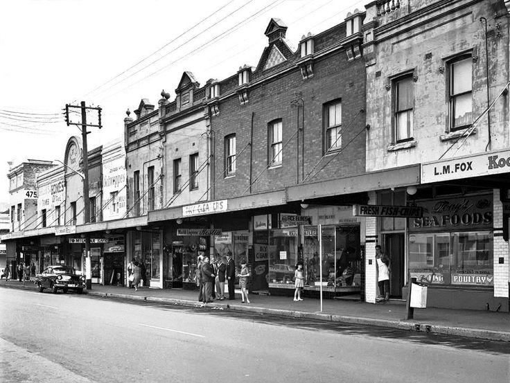 King Street. Newtown. 1962