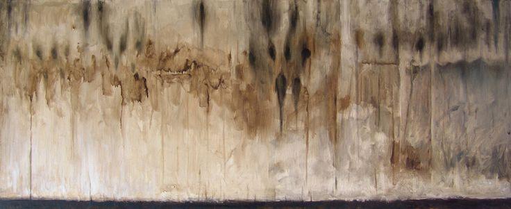 Untitled - Oil on linen - 114,5x47cm - 2011 - Alessio Pierro