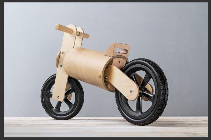 #balance bike #push bike #paper tube bike #father's factory # first kid bike