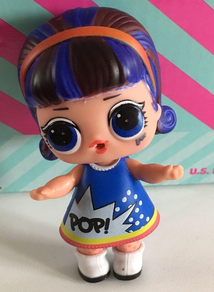 Lol Surprise Doll Under Wraps Series 4 Pop Heart New Ultra