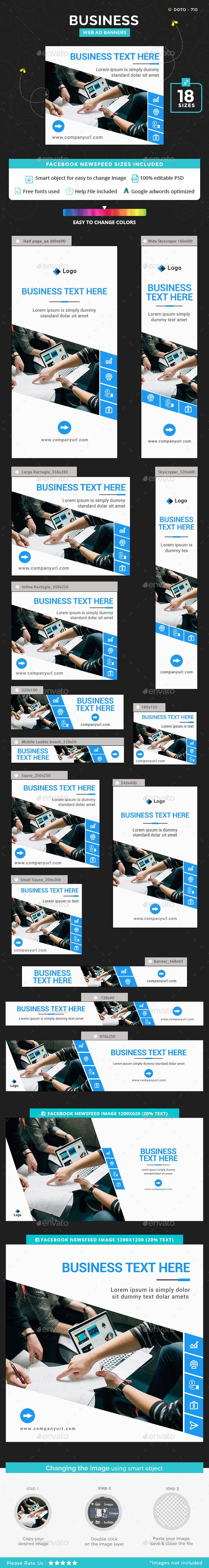Business Banners - #Banners & Ads Web Elements