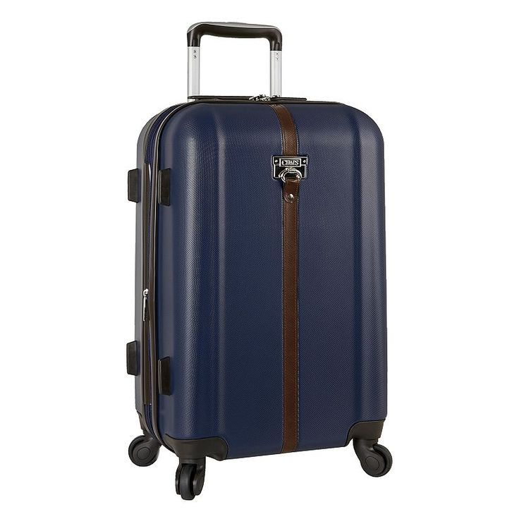 Chaps Wyndemere Hardside Spinner Luggage, Blue (Navy)