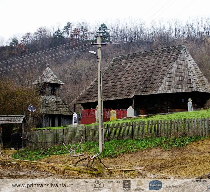 400 years old wood church in Silivașu, Bistrița