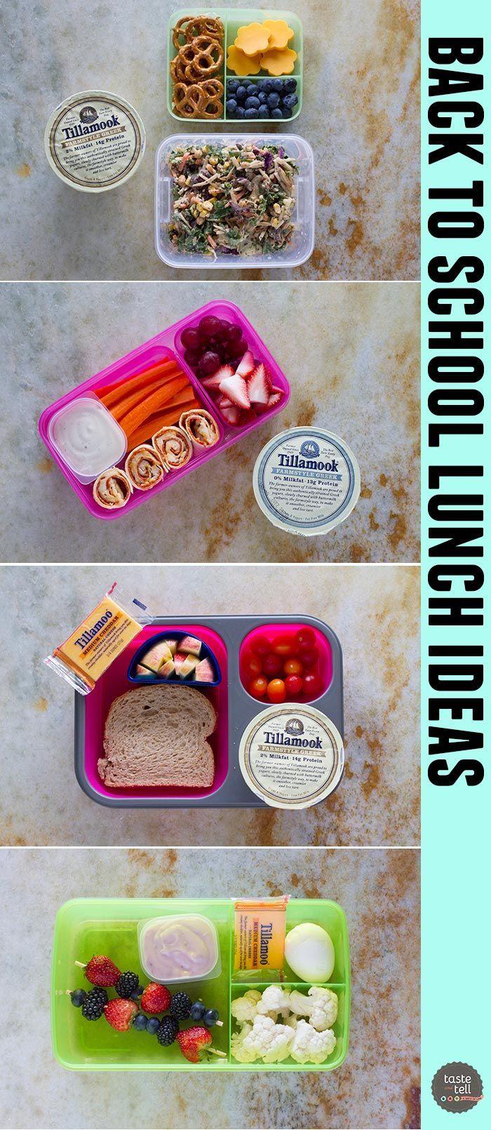4 great school lunch ideas - great ways to de-junk the lunchbox!