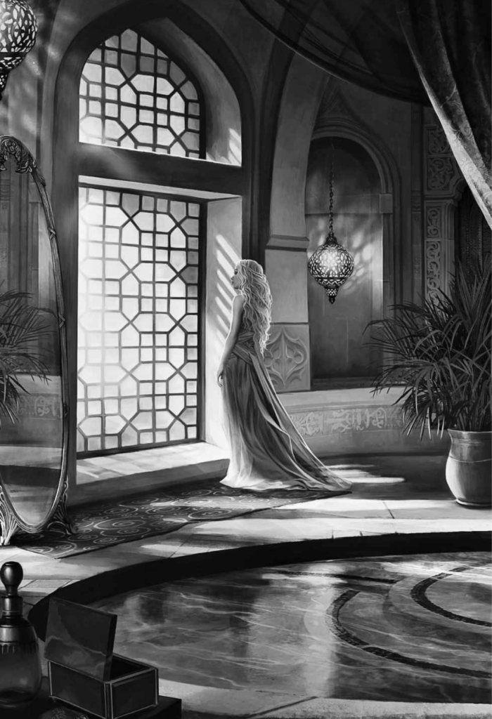 Resultado de imagem para a game of thrones illustrated edition daenerys