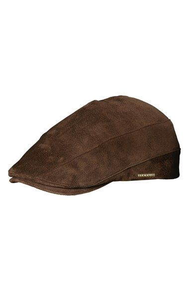 Stetson Suede Driving Cap