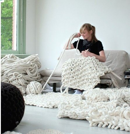 Large knitting