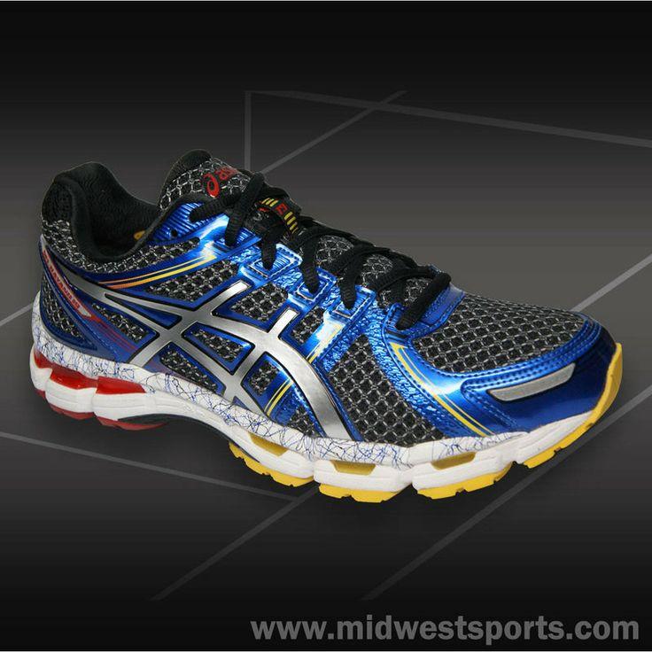 Asics Kayano 19 Men's Running Shoes Black/Lightning T342N 9091