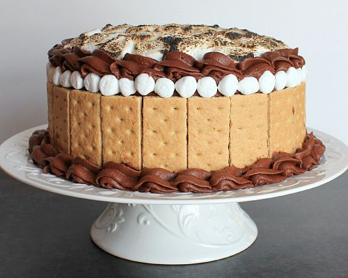 Love Laurie Smores Cake