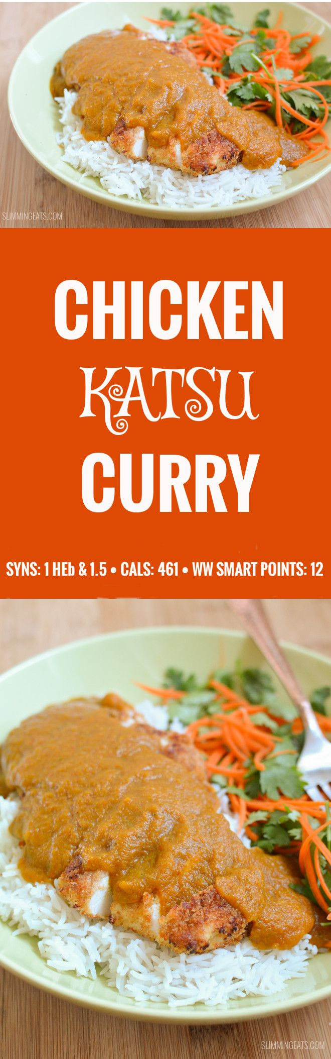 Slimming Eats Chicken Katsu Curry - dairy free, Slimming World and Weight…