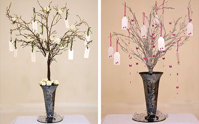 Как сделать свадебное дерево пожеланий