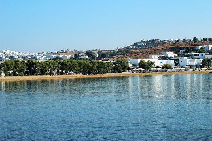 Paros Logaras Beach