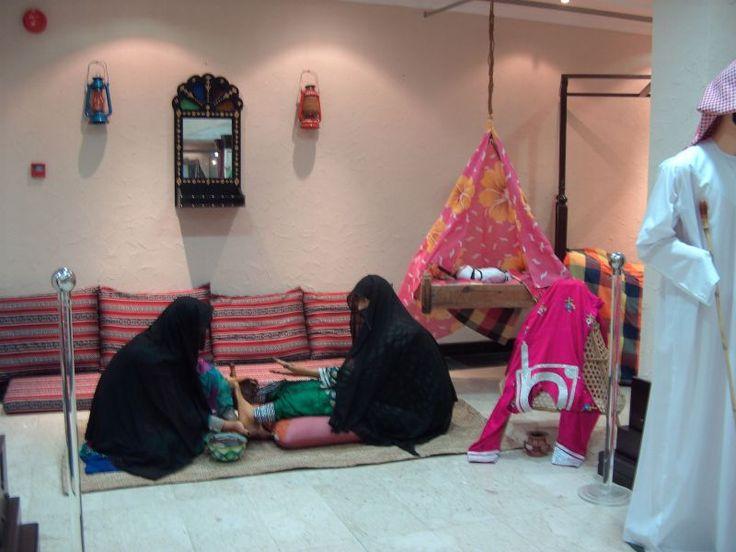 Arabian women's life- Museum- Abu Dhabi