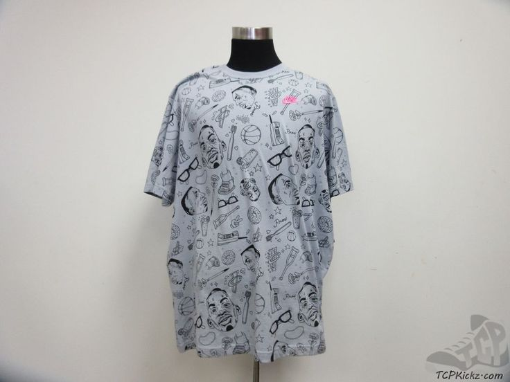 Nike Air LIL PENNY Foamposite Short Sleeve t Shirt sz 3XL XXXL 3x Large NWT #Nike #BasicTee #tcpkickz