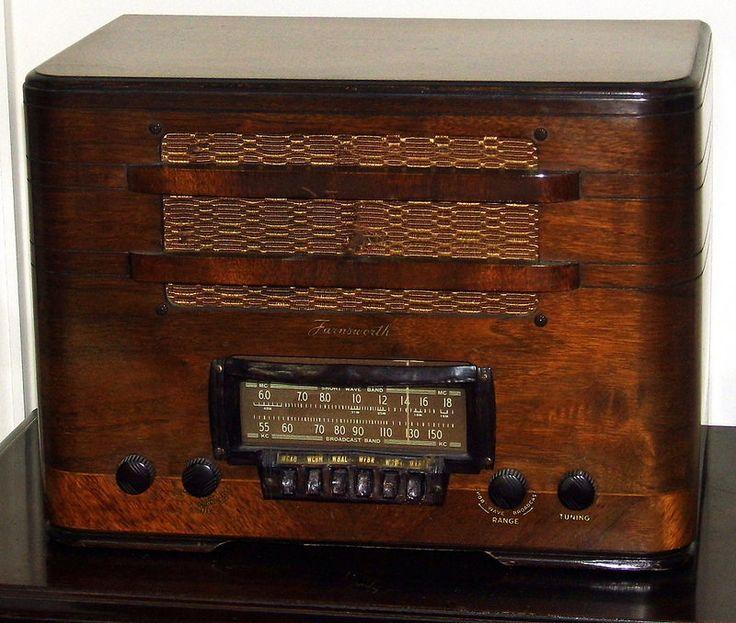 564 Best Vintage Wood Radios Images On Pinterest Antique