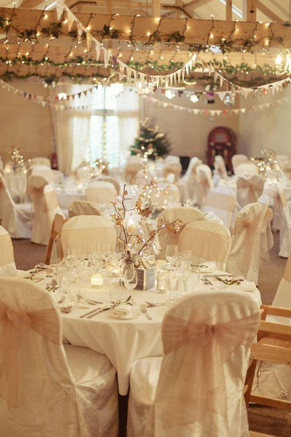 Jenny Packham and Jukebox Joy for A Christmassy Winter Barn Wedding | Love My Dress® UK Wedding Blog