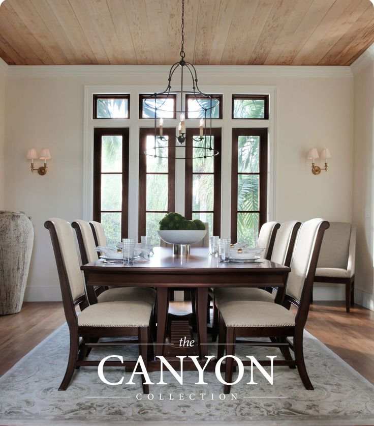 Traditions starts in the home, and home starts with the versatile Canyon collection.