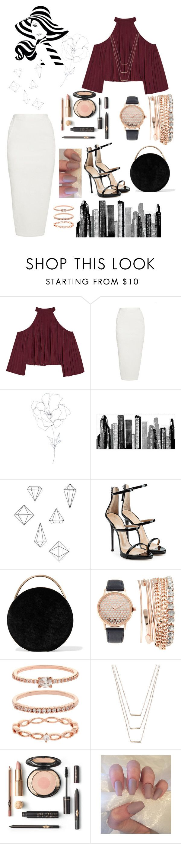 """Real woman"" by andrea-oh14 ❤ liked on Polyvore featuring W118 by Walter Baker, Rick Owens, Blume, RoomMates Decor, Umbra, Giuseppe Zanotti, Eddie Borgo, Jessica Carlyle, Accessorize and ERTH"