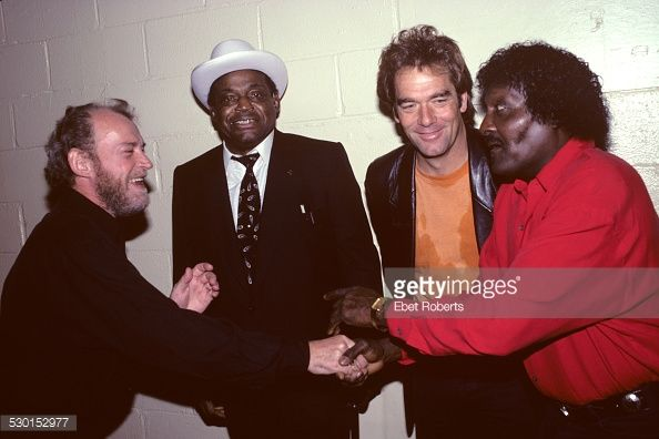 Photo d'actualité : Joe Cocker, Willie Dixon, Huey Lewis and Albert...
