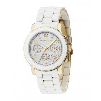 Elevate your look to the next level with this watch from Michael Kors. Featuring a rose goldtone dial, hands and bracelet, this watch works equally well for casual, professional and formal wear, and t