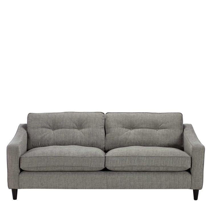 Claudio Extra Large Sofa Milano Pewter, Extra Large Living Room Chairs