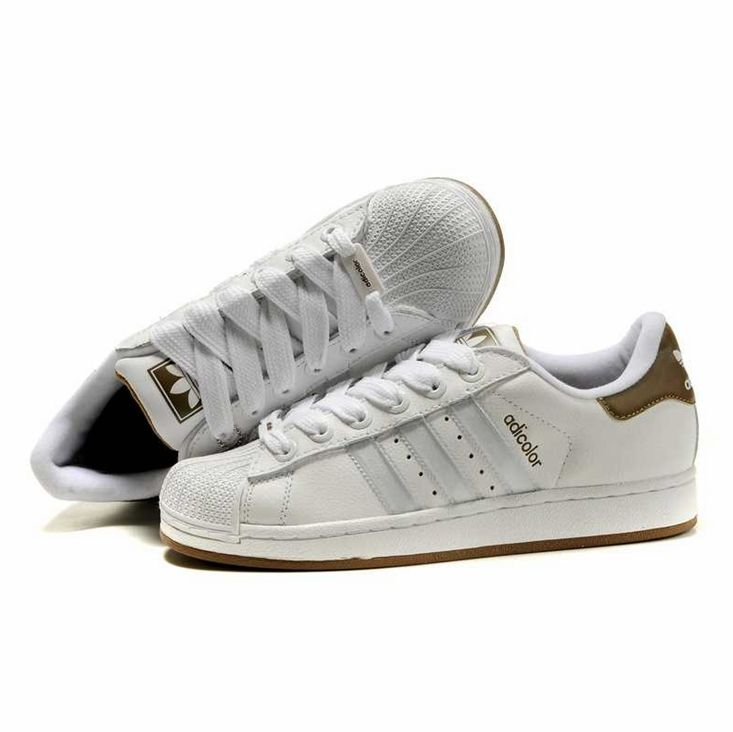 addidas shoes for men shell top | Top Adidas Adicolo Shoes 08 White Brown  For Men