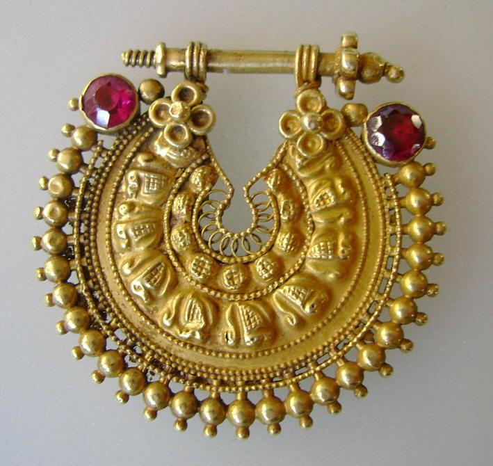 Nose ring, India (Andhra Pradesh), date unknown