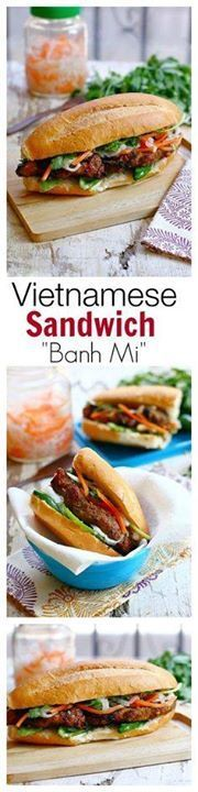 Vietnamese Sandwich Vietnamese Sandwich Banh Mi - easy...  Vietnamese Sandwich Vietnamese Sandwich Banh Mi - easy fool-proof recipe SO quick delicious & a zillion times better than takeout | rasamalaysia.com Recipe : http://ift.tt/1hGiZgA And @ItsNutella  http://ift.tt/2v8iUYW