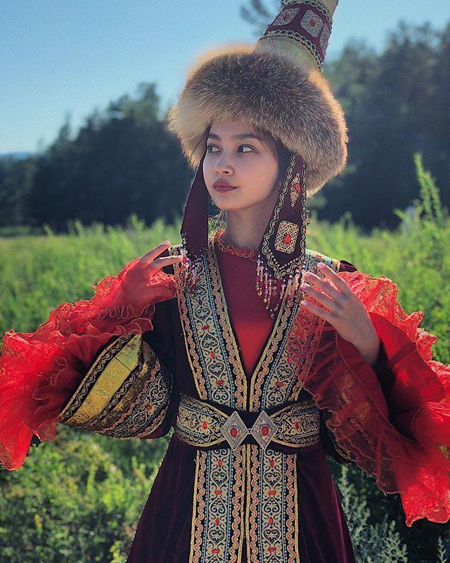 казахская одежда с картинками даже самом