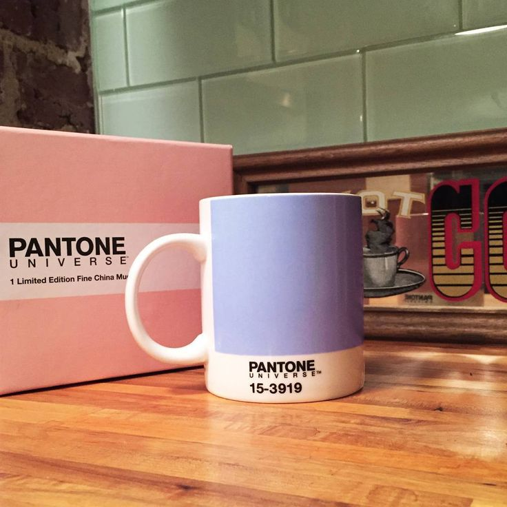It's #MugMonday! In honor of #ColoroftheYear 2016 our Limited Edition #RoseQuartz & #Serenity mugs are now available on Pantone.com. Click the link in our bio for more info. #Pantone: