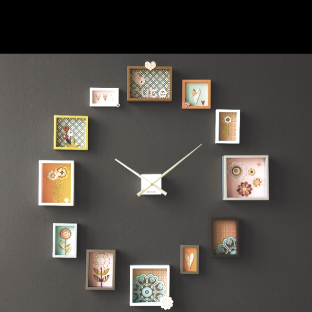 Home Decor with a splash of 'Love'     Hobby Lobby sells the big wall clock arms