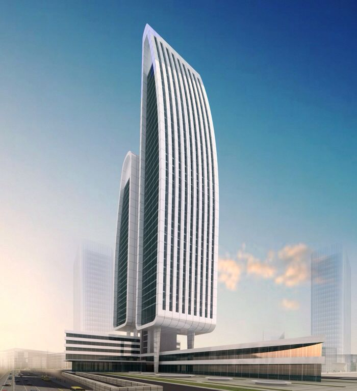 Design concept of an offices tower