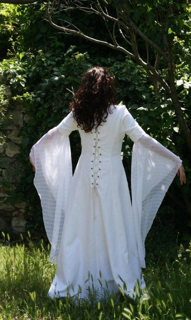 patron couture gratuit robe medievale 4