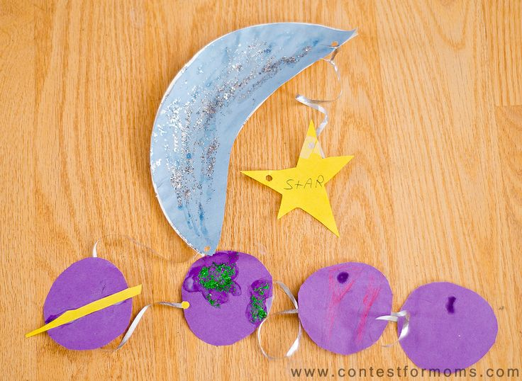 117 best easy crafty fun crafty food too images on for Moon and stars crafts