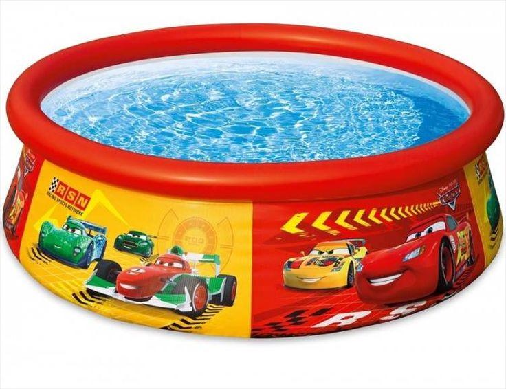 Disney Cars Easy Set Zwembad (Ø:183cm, H:51cm) (Intex) #zwembad #zwembaden #intex #kinderzwembad #kinderzwembaden #speelzwembad