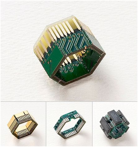 Geek Art Gallery: Crafts: Circuitry Ring
