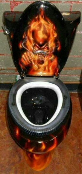 Excellent Harley Davidson Bathroom Toilet Seats Related Keywords Caraccident5 Cool Chair Designs And Ideas Caraccident5Info