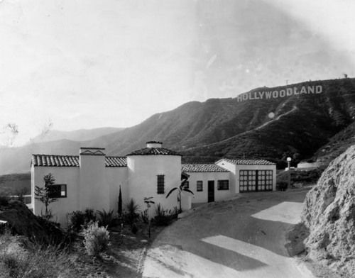 Hollywoodland, Los Angeles, California | 1948 ...I was ...