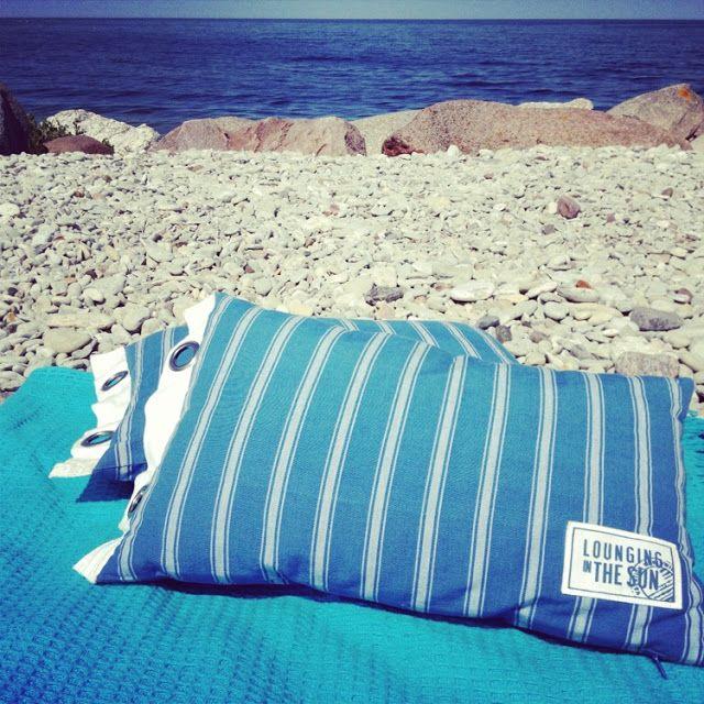 #summer #beach #pillow #sea