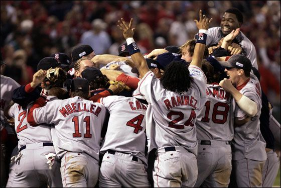 ...The Red Sox World Series win was, and will always be, one of the greatest moments in your life.