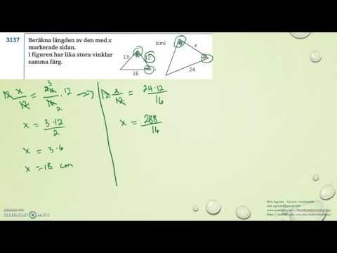 Matematik 5000 Ma 2a   Kapitel 3   Geometri   Likformiga månghörningar  ...